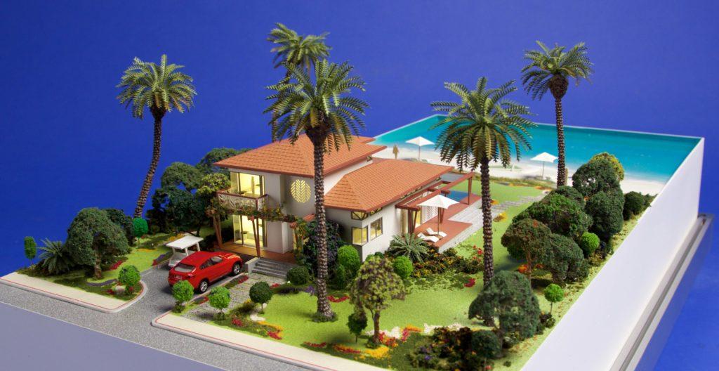 Regent Bay_Villa Model_ Aerial 3-01