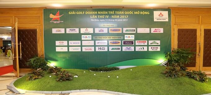 Harvey Law Group tài trợ giải golf mở rộng – Hội doanh nhân trẻ Việt Nam lần thứ 4 năm 2017