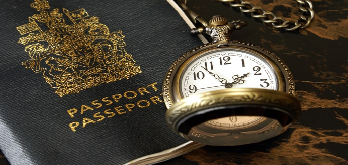 Shutterstock Canada Passport + Pocket Watch