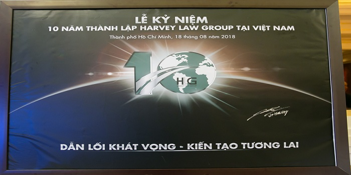 HARVEY LAW GROUP KỶ NIỆM 10 NĂM HOẠT ĐỘNG TẠI VIỆT NAM