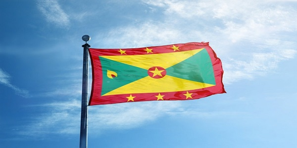 Grenada Flag image 600x300 pxl