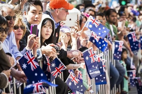 Quốc gia Úc thu hút đông đảo dân nhập cư trên thế giới
