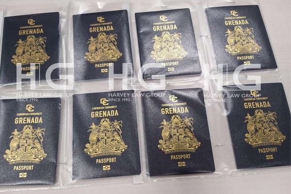 Khách hàng thành công nhận được hộ chiếu Grenada của HLG 1